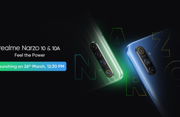 The launch of the Realme Narzo 10 series in India has been postponed again