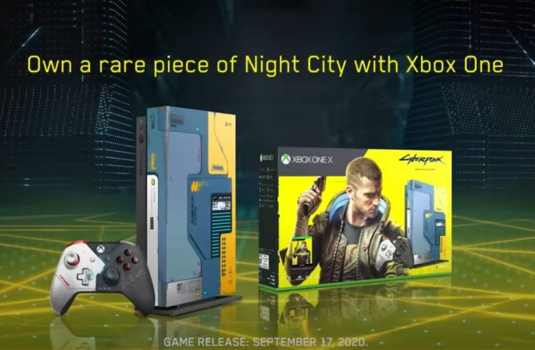 This Microsoft Xbox One X special edition glows in the dark