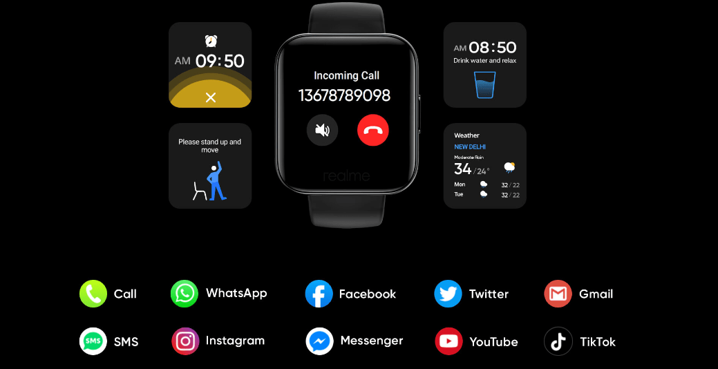 Realme watch notifications