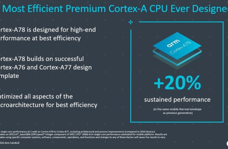 ARM introduces Cortex-A78 and Cortex X1 CPUs as well as the Mali-G78 GPU for 2021 flagships