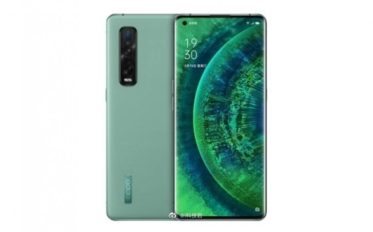 Oppo Find X2 Pro Green Vegan Leather becomes official in China