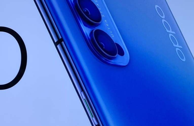 Oppo Reno 4 banner shows a bold design and leaked some specs