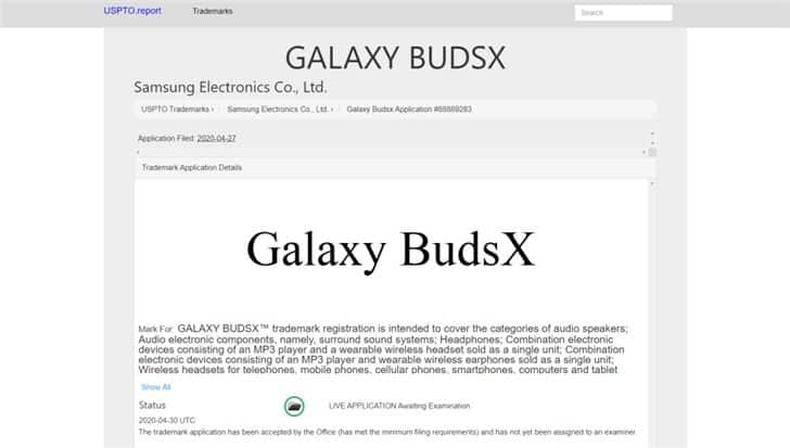 Samsung Galaxy BudsX may support independent audio playback and built-in memory