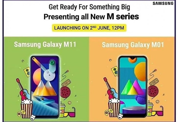 Samsung Galaxy M11, Galaxy M01 will be launched in India on June 2