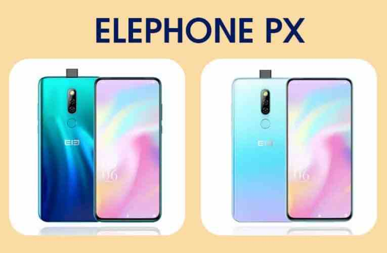 Take a look at the full design of ELEPHONE PX Pro