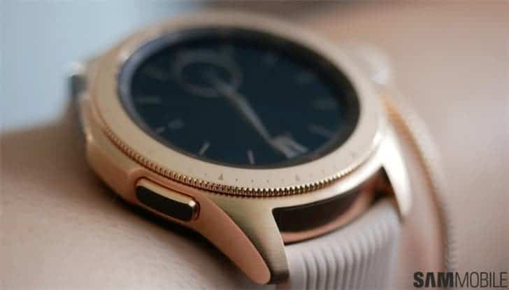 Samsung Galaxy Watch 2 surfaces with physically rotatable bezel