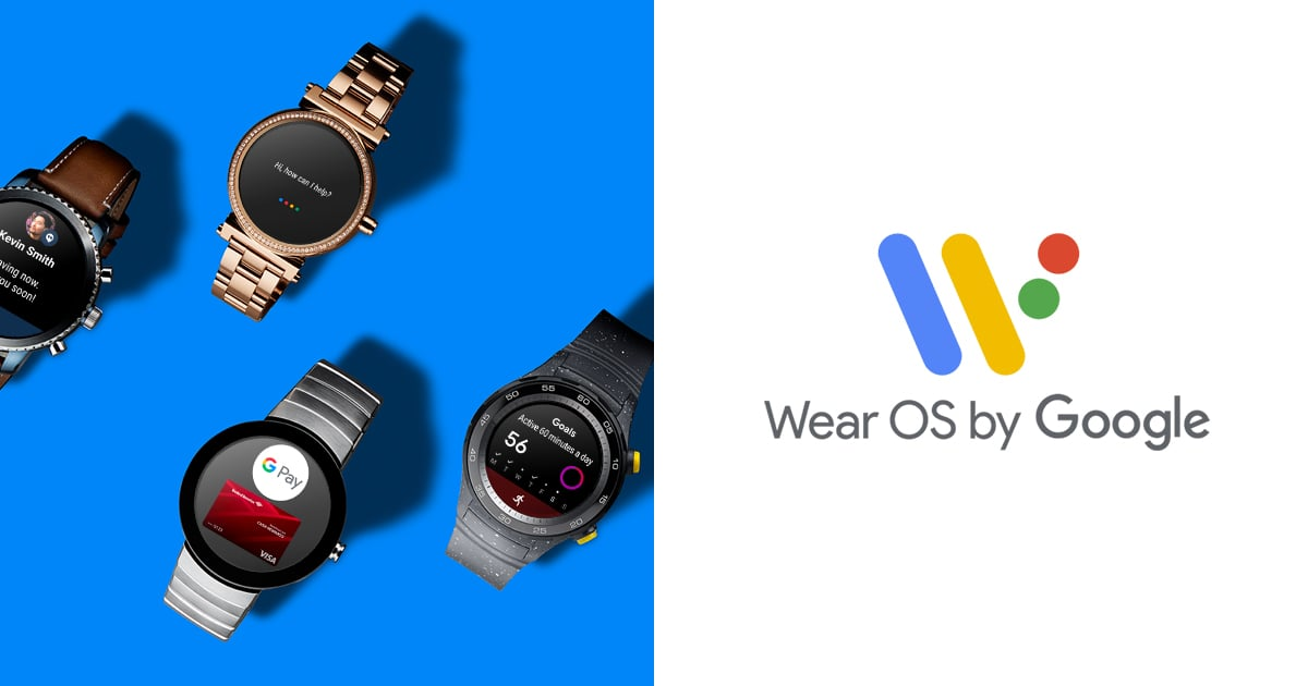 Smartwatches Wear OS from Google
