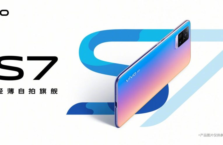 Vivo S7 renderings show the X50 live camera setup