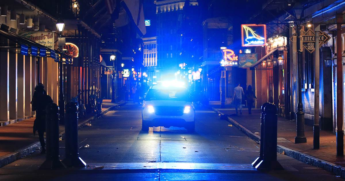 Five shot on New Orleans' famous Bourbon Street, police say