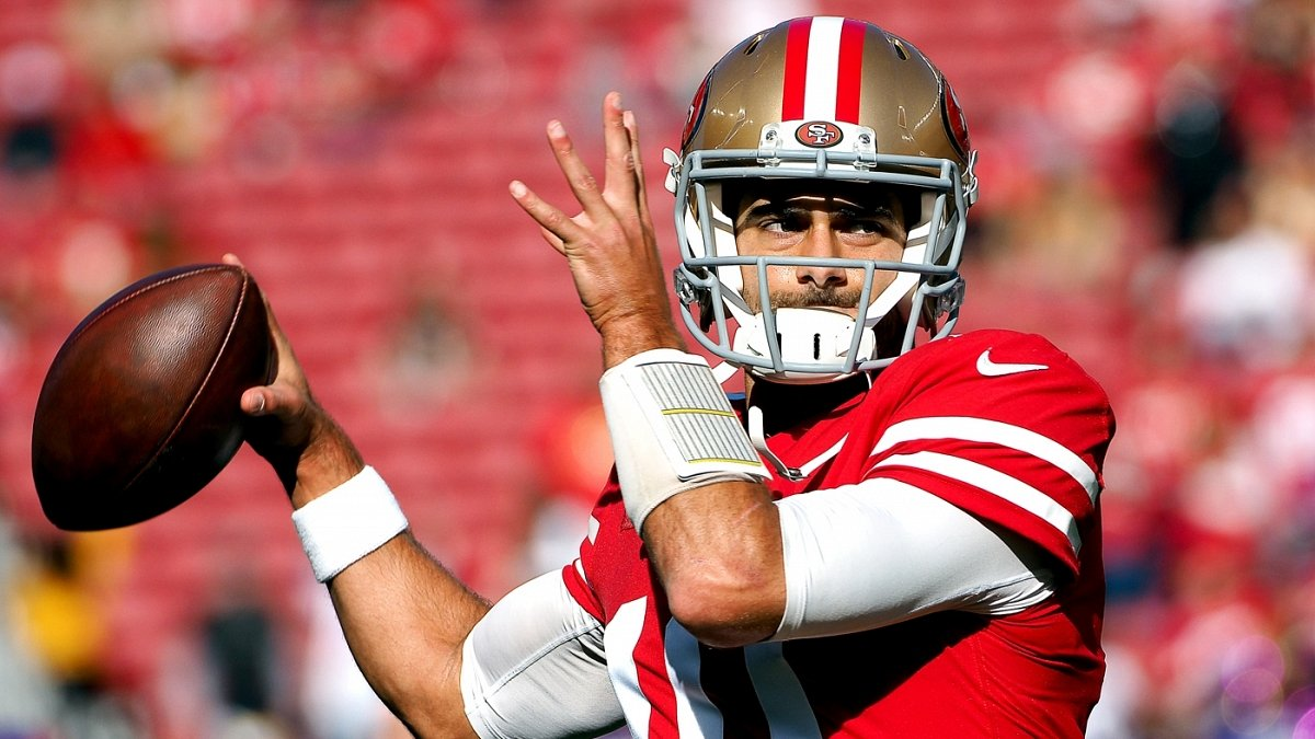 Report: Patriots working on a new contract for 49ers QB Jimmy Garoppolo -- just in case