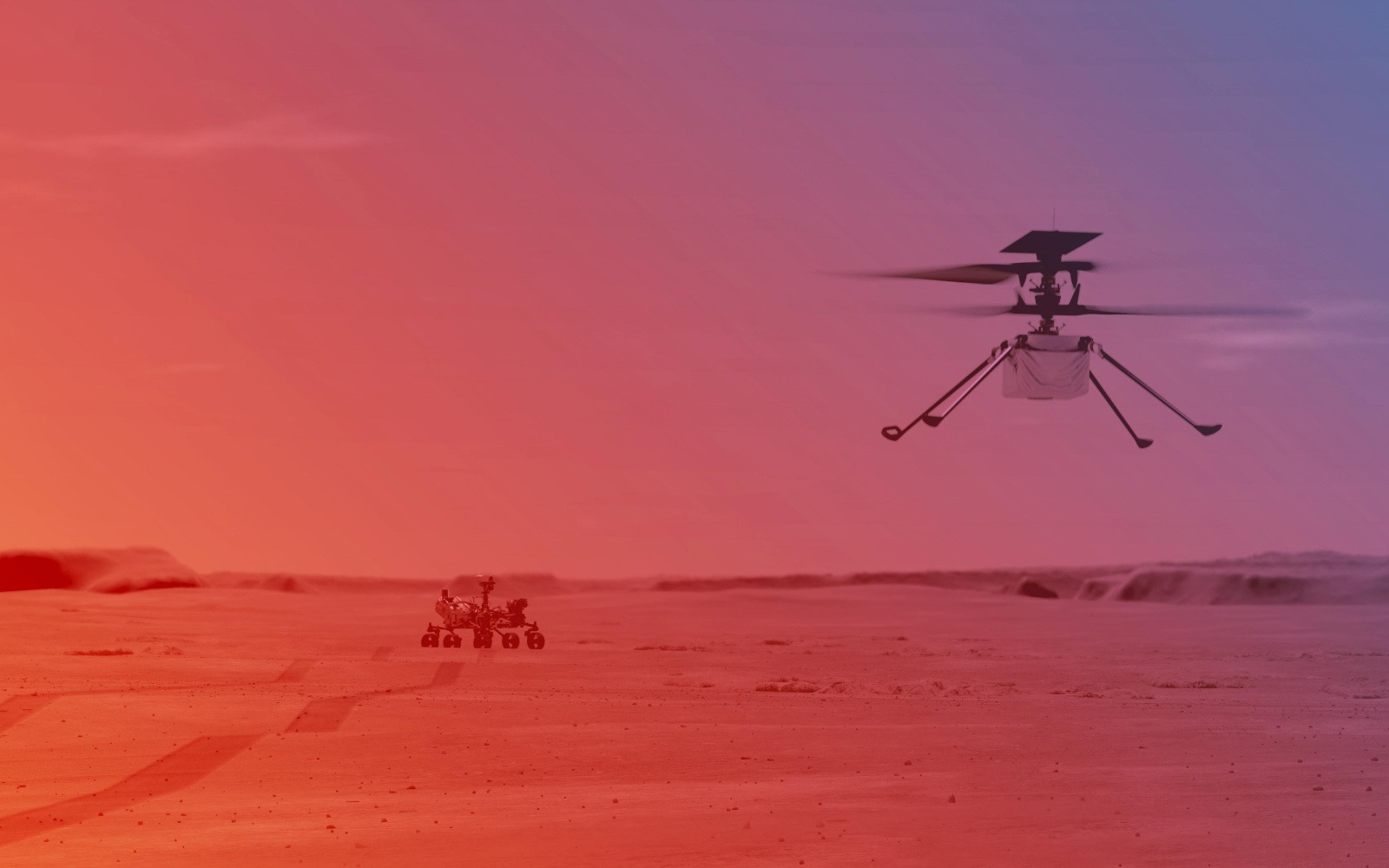 NASA wants to go farther and faster for fourth Mars helicopter flight