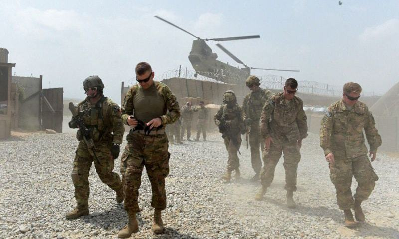 Top US commander in Afghanistan says steps to end military mission launched - World