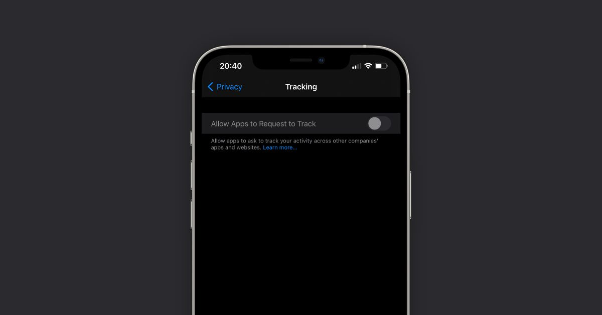 iOS 14.5 App Tracking Transparency toggle mysteriously grayed out for some users