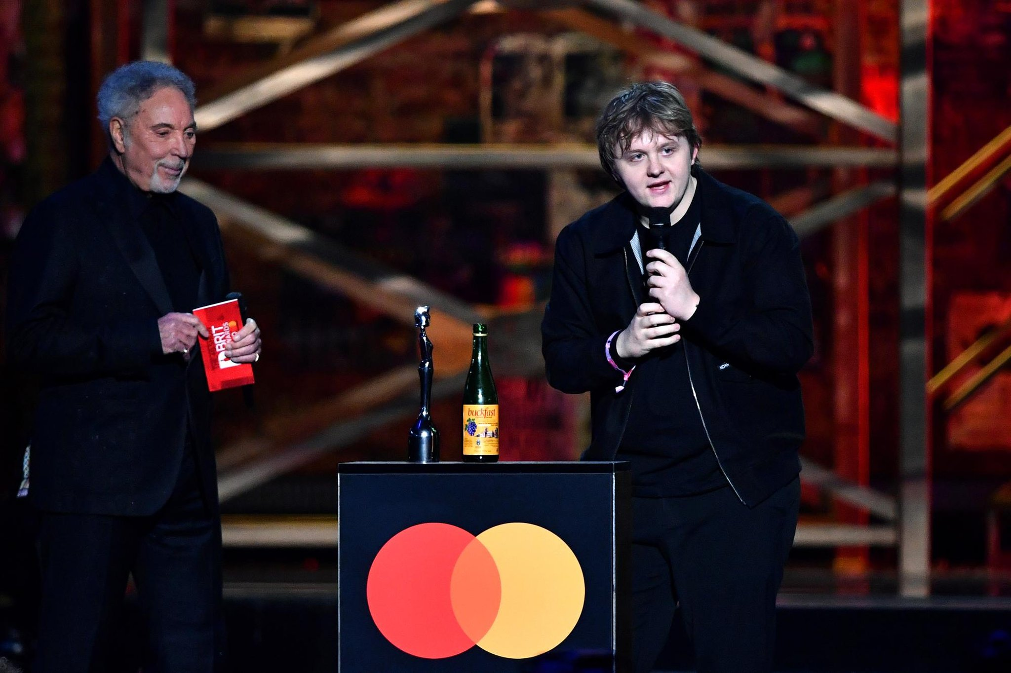What did Lewis Capaldi say at the Brit Awards 2021? Why the Scottish singer's speech was repeatedly muted