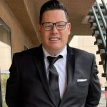 The Chase star Mark Labbett shows off 10 stone weight loss in sharp suit