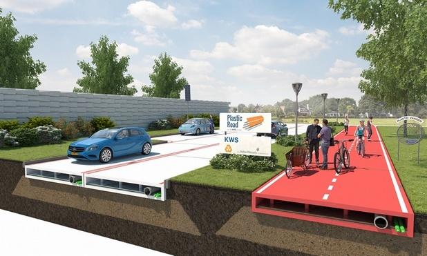 Холандия ще строи първия пластмасов път
