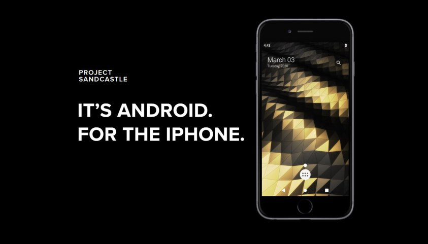 iPhone එකක් මත Android Operating System එක භාවිතා කළ හැකි ක්රමයක් එළිදක්වයි