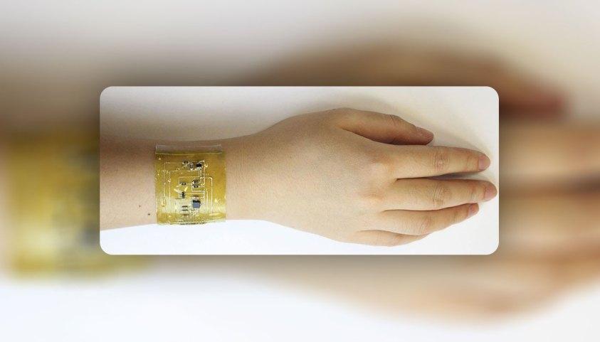 ස්වයංක්රීයව සුවවෙන සහ Smartwatch වෙනුවට පැළඳිය හැකි ඉලෙක්ට්රොනික සමක් නිර්මාණය කිරීමට විද්යාඥයන් පිරිසක් සමත් වෙයි