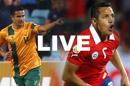 Chile Australia World Cup Live Stream Video