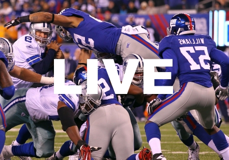 New York Giants NFL Dallas Cowboys Live Stream Online Video Game