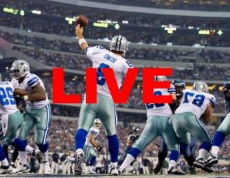 Dallas Cowboys Live Stream NFL Online Football Game Video