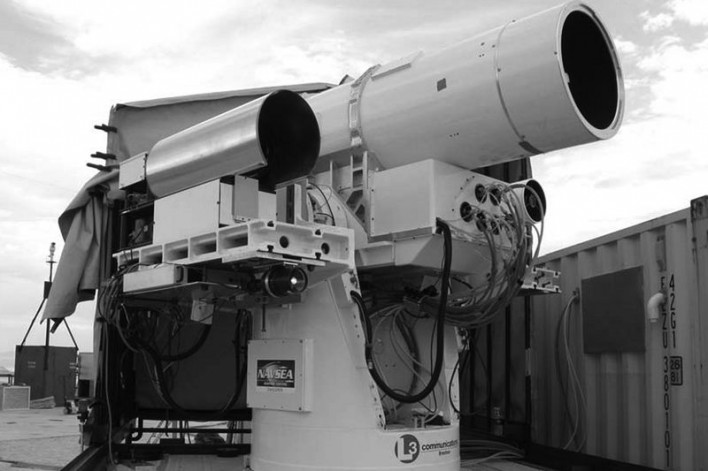 The Navy Is Getting Ready To Use Star Wars Lasers In Battle