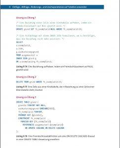 SQL Einstieg Beispiel