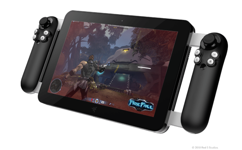 Razer shows off dual-stick tablet and gamepad hybrid