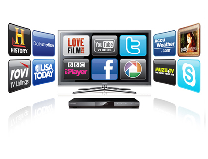 Research: Majority of televisions have internet by 2016