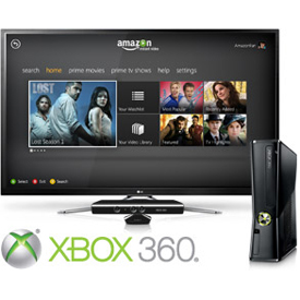 Amazon launches Instant Video app for Xbox 360