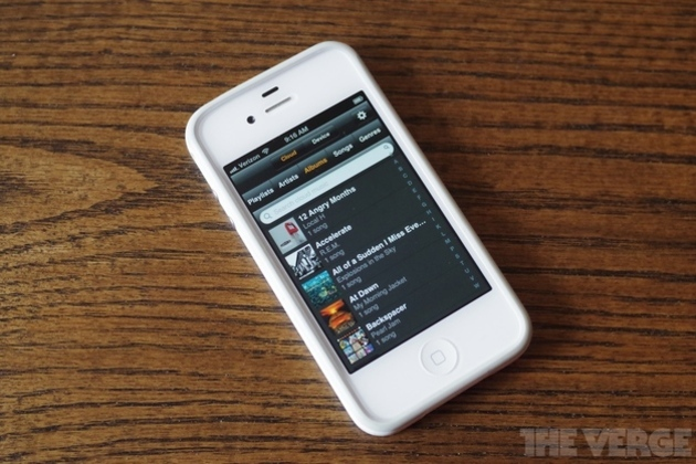 Amazon releases Cloud Player for iOS