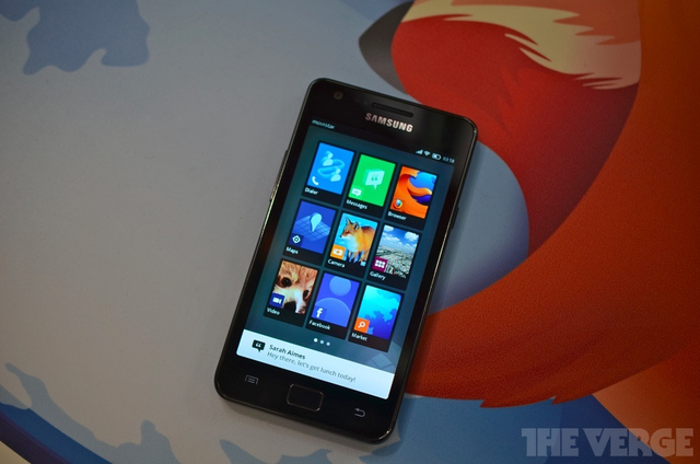 Firefox OS to support smartphones by 2013