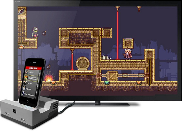 Play iOS games on your TV with the iOS GameDock