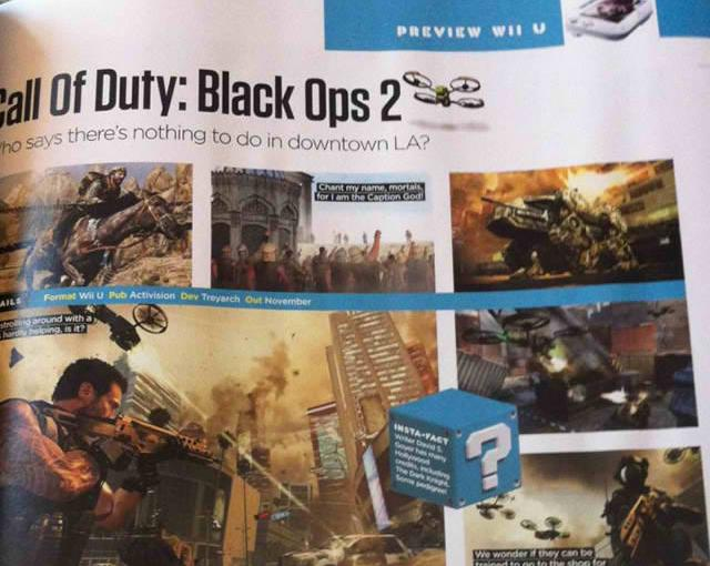 Call Of Duty: Black Ops II coming to Wii U?