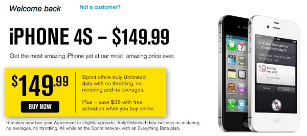iPhone 4S price reduced. A prelude to the iPhone 5 release?