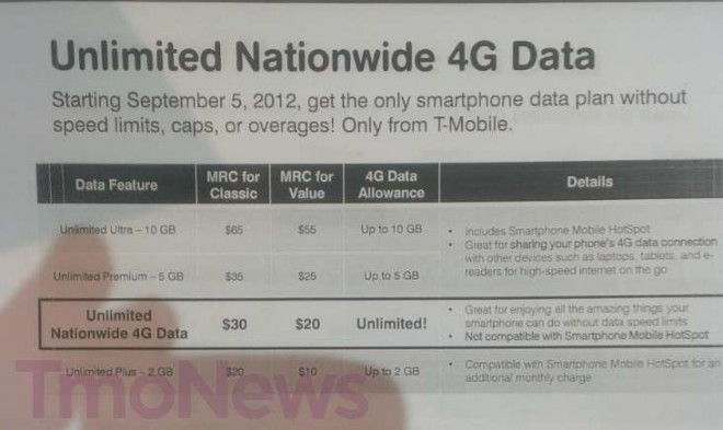 """T-Mobile to offer """"truly unlimited"""" 4G data to clientele"""