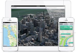 The Apple Maps flyover effect and normal map view