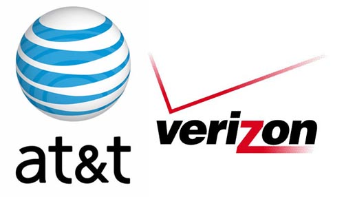 AT&T has more iPhone users, Verizon has more Android users