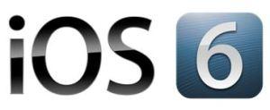 The official iOS 6 logo