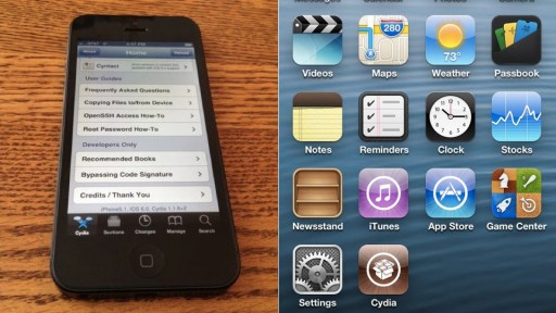 iPhone 5 seems to have been jailbroken in just a few hours!