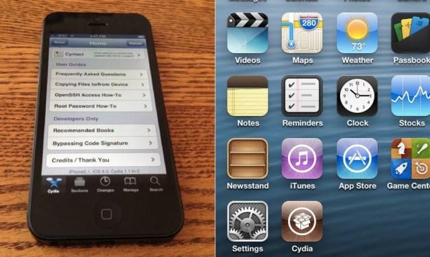iPhone 5 jailbroken hours after release?
