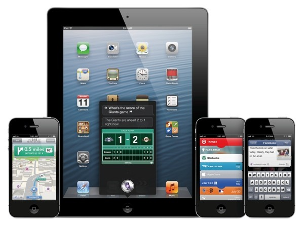 Most of the iPhones are running on iOS 6