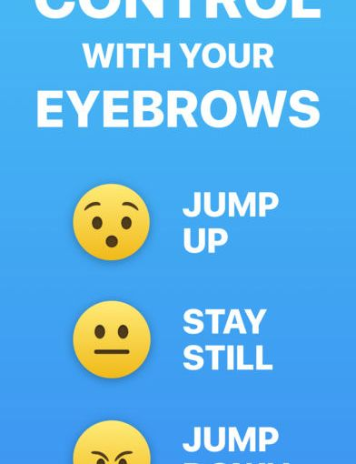'Rainbrow' is an iPhone X Game You Play Using Your Eyebrows