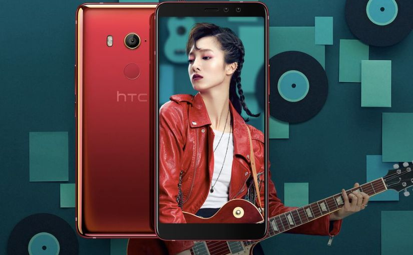HTC Unveils U11 Eyes With Dual Phone Camera