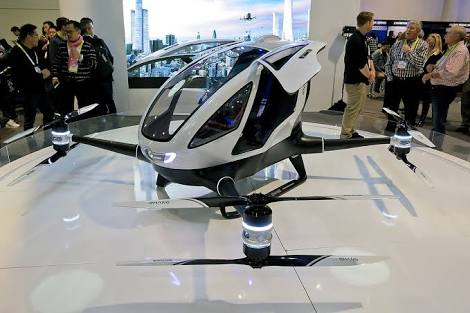 Ehang Shows Off Passenger Drone's Flight Success