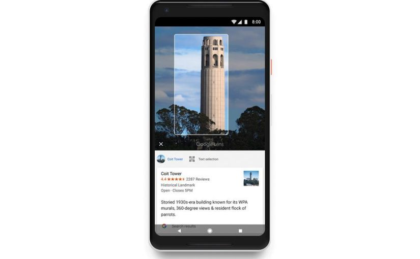 Google Rolls Out Lens To Google Photos Users On Android