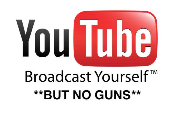 YouTube Bans Firearms Channels