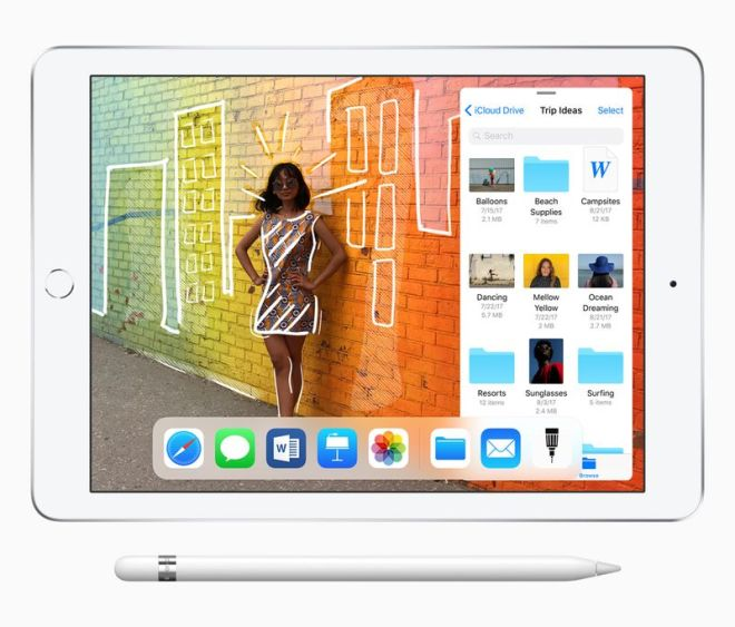 Apple's latest iPad now supports the Apple Pencil