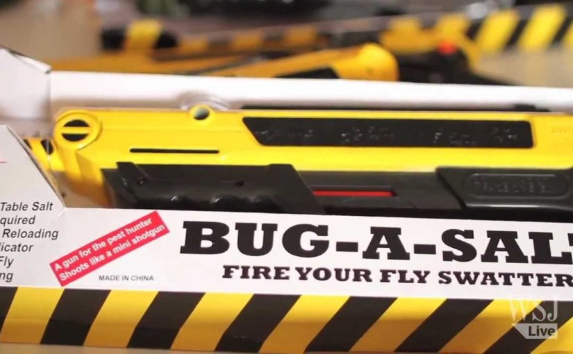 Bug-A-Salt: Indiegogo Champ a Lethal Weapon for Deadly Flies and Mosquitoes