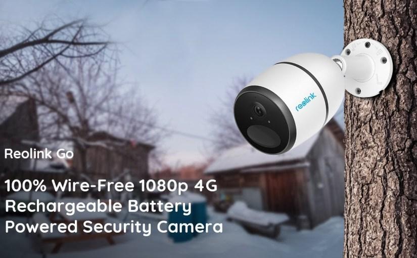 Reolink Go: Wireless Mobile Rechargeable HD Security Cam at Indiegogo